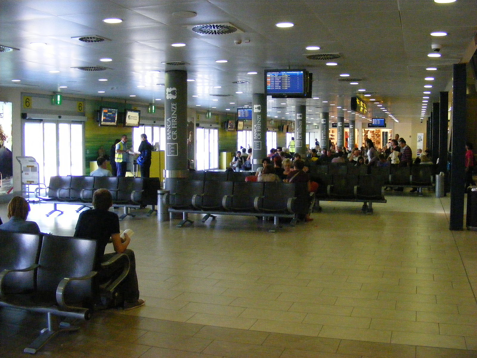 Florence Airport has a single passenger terminal.