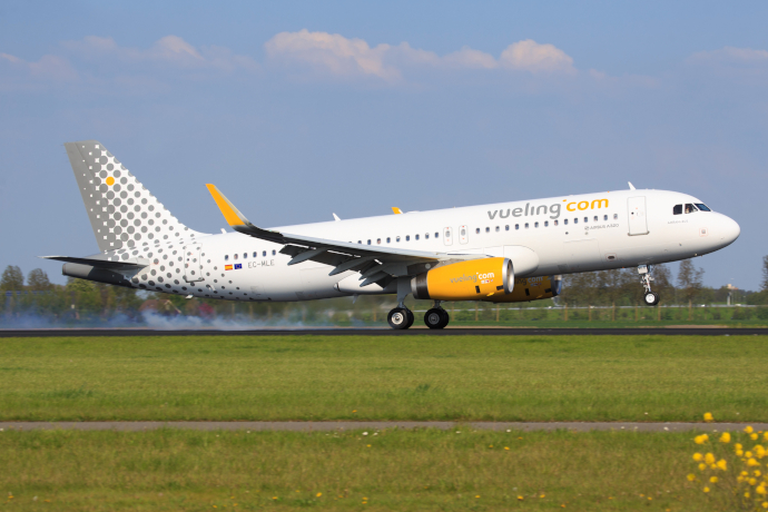 Florence Airport is a focus city for Vueling.